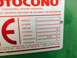 Cone to cone winder MOTOCONO . .  MOTOCONO 2002/2004  Used - Second Hand Textile Machinery