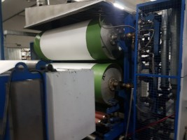 YAMUNA Padder with cylinder dryer .  YAMUNA 2015  Used - Second Hand Textile Machinery