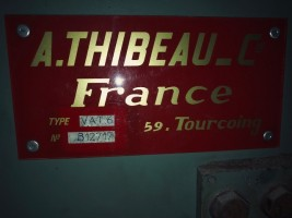 THIBEAU CA6 - B6 semi-worsted card CA6 - B6  THIBEAU 1991  Used - Second Hand Textile Machinery
