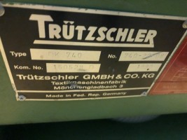 Cotton cards TRUTZSCHLER DK 740 DK 740  TRUTZSCHLER 1990/1991/1992/1993  Used - Second Hand Textile Machinery