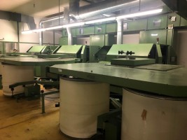 Cotton cards TRUTZSCHLER DK 740 DK 740  TRUTZSCHLER 1990/1991/1992/1993  Used - Second Hand Textile Machinery