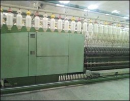 RIETER G33 Ring frames linked with winder  G33  RIETER 1999  Used - Second Hand Textile Machinery