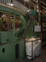 GAUDINO FBTE WOOLEN ring frames linked to winder FBTE  GAUDINO 1995  Used - Second Hand Textile Machinery