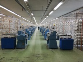 Métier a crochets COMEZ 609 pour bande elastique . COMEZ 2014 - 2015 d'Occasion - Machines Textiles de Seconde Main  -