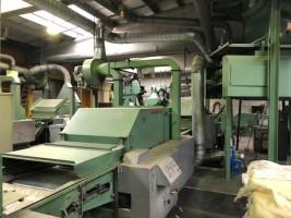 DELL ORCO E VILLANI tearing machine  .  DELL 1983  Used - Second Hand Textile Machinery