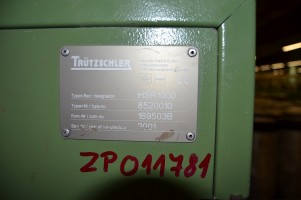 Drawing machines TRUTZSCHLER HSR 1000 HSR  TRUTZSCHLER 2001  Used - Second Hand Textile Machinery