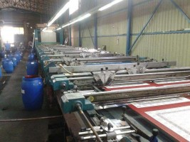 BUSER Flat bed printing machine ..  BUSER 2000  Used - Second Hand Textile Machinery