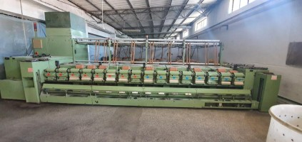 FM8A  NSC horizontal finisher FM8  NSC 1997  Used - Second Hand Textile Machinery