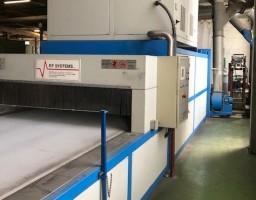 high frequency dryer RF SYSTEM . .  RF SYSTEM 2006  Used - Second Hand Textile Machinery