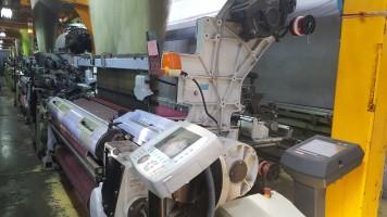 Metier à tisser Jacquard SOMET ALPHA ALPHA SOMET 2005 d'Occasion - Machines Textiles de Seconde Main  -