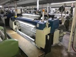 Lot de metiers jet dair PICANOL OMNI PLUS 800 Tissage   d'Occasion - Machines Textiles de Seconde Main  -