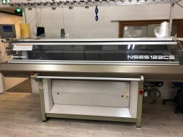 SHIMA NSES Flat knitting machine  NSES  SHIMA 2011  Used - Second Hand Textile Machinery