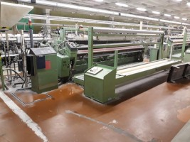 DORNIER LWV and AWS Air jet looms in wider width LWV  DORNIER 96-2000-2003  Used - Second Hand Textile Machinery
