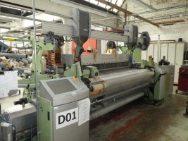 DORNIER PTS/ P1 Rapier looms  PTS  DORNIER 2015  Used - Second Hand Textile Machinery