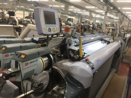 VAMATEX LEONARDO SILVER HS Rapier looms  LEONARDO SILVER HS  VAMATEX 2006  Used - Second Hand Textile Machinery
