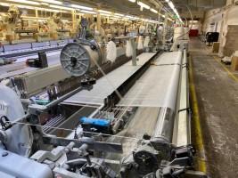 VAMATEX LEONARDO SILVER 501 Rapier looms  LEONARDO SILVER 501  VAMATEX 2012  Used - Second Hand Textile Machinery