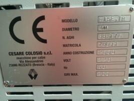 Métier à tricoter circulaire COLOSIO RISE TR RISE TR COLOSIO 2000 d'Occasion - Machines Textiles de Seconde Main  -