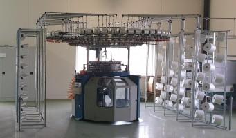 Métier à tricoter circulaire ORIZIO . . ORIZIO 2002/2003 d'Occasion - Machines Textiles de Seconde Main  -