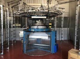 Métier à tricoter circulaire ORIZIO JO . . ORIZIO + / - 90 d'Occasion - Machines Textiles de Seconde Main  -