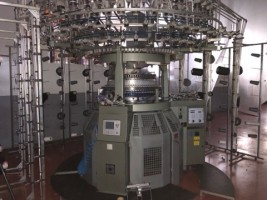 Métier à tricoter circulaire TERROT UP248 UP TERROT 2000 / 2002 d'Occasion - Machines Textiles de Seconde Main  -
