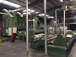 Napping machine LAROCHE . .  LAROCHE 2001  Used - Second Hand Textile Machinery
