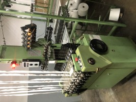 MULLER NF Narrow fabric looms for tapes and belts  NF  MULLER 1998  Used - Second Hand Textile Machinery