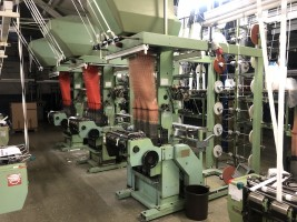 MULLER NFJK 53 Narrow fabric looms for tapes and belts  NF  MULLER 1989  Used - Second Hand Textile Machinery