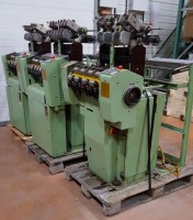 Narrow fabric looms for tapes and belts MULLER NG 42 NG  MULLER 2002-2003  Used - Second Hand Textile Machinery