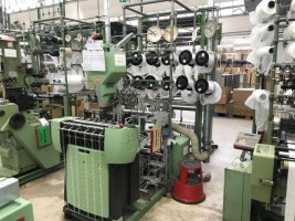 MULLER NH Narrow fabric looms for tapes and belts  NH  MULLER 2010  Used - Second Hand Textile Machinery