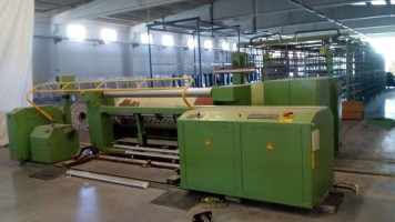 KARL MAYER ERG-0-MATIC Sectional warper  ERG-0-MATIC  KARL MAYER 1998  Used - Second Hand Textile Machinery