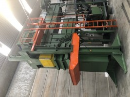 Bales press for flock GAVAZZI . .  GAVAZZI   Used - Second Hand Textile Machinery
