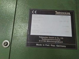 Complete TRUTZSCHLER preparation for cotton COMPLETE PREPARATION  TRUTZSCHLER 1995  Used - Second Hand Textile Machinery