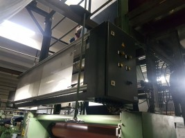 Flat stenter for weaving fabric BABCOCK 5000-5600  BABCOCK 1998  Used - Second Hand Textile Machinery