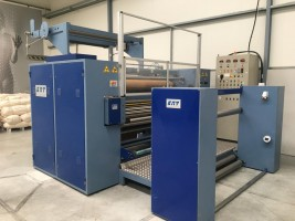 KMT Combi Calender for transfer printing  Combi  KMT 2004  Used - Second Hand Textile Machinery