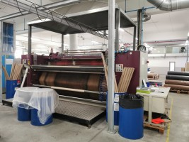 MONTI ANTONIO Transfer Printing calender. .  MONTI 2008  Used - Second Hand Textile Machinery