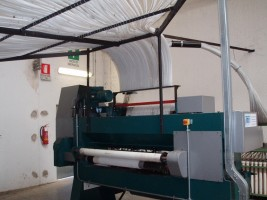 machine à tufter TMS . TMS 2006 d'Occasion - Machines Textiles de Seconde Main  -