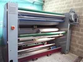Inspecting batching machine ABM . .  ABM 1996  Used - Second Hand Textile Machinery