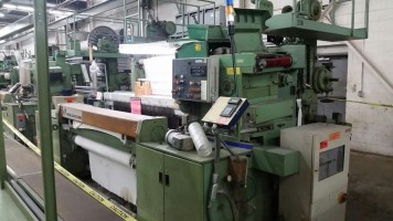 VAN DE WIELE VMM22 Velvet weaving looms VMM32  VAN DE WIELE 1987-1992  Used - Second Hand Textile Machinery