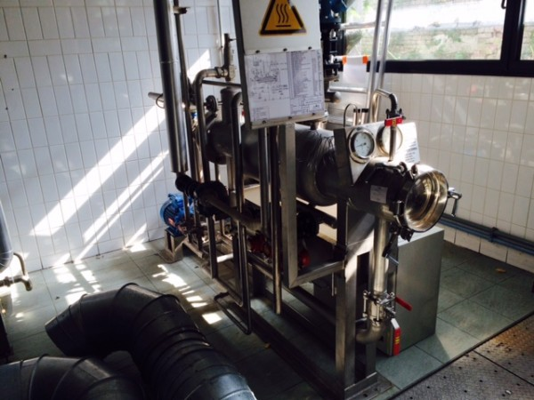 ALLIANCE sampling autoclave - Second Hand Textile Machinery 1995