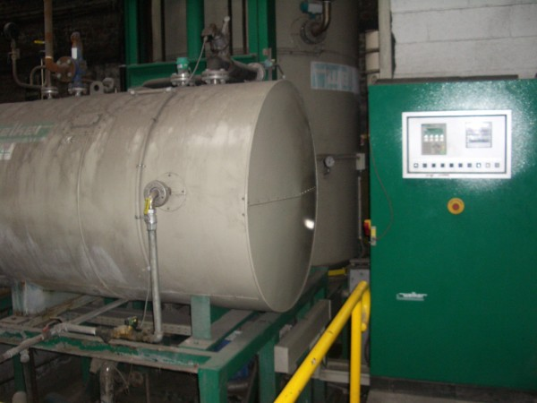 WELKER steaming autoclave VAPOFIX - Second Hand Textile Machinery 1999
