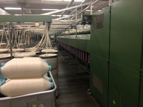Roving frames ZINSER 670 - Second Hand Textile Machinery 1998