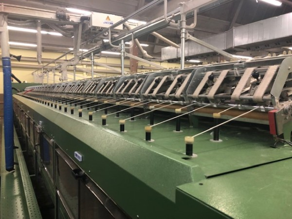 Roving frames ZINSER 670 - Second Hand Textile Machinery 2001