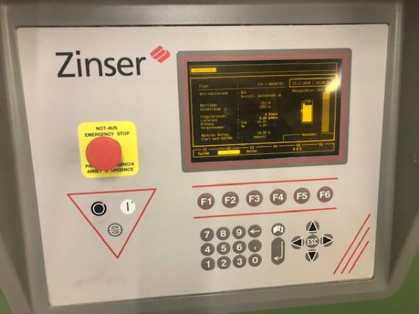 Banc à broche ZINSER 670  - Occasion 2001