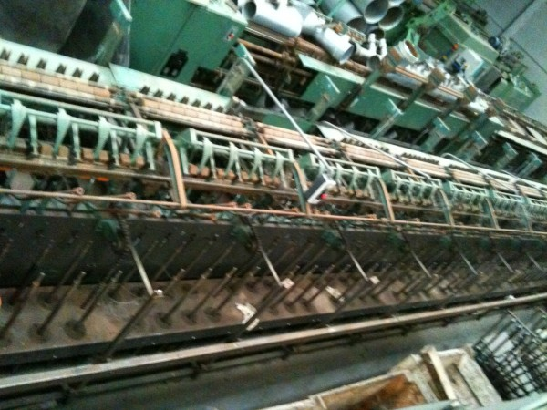 MACKIE flax roving frame - Second Hand Textile Machinery 1988/89