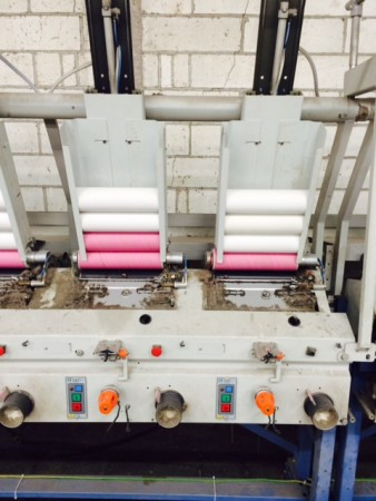 Cone to cone winder FADIS . - Second Hand Textile Machinery 2000