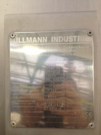 Autoclave de teinture ensouple ULLMANN ROTOBEAM  - Occasion 1999