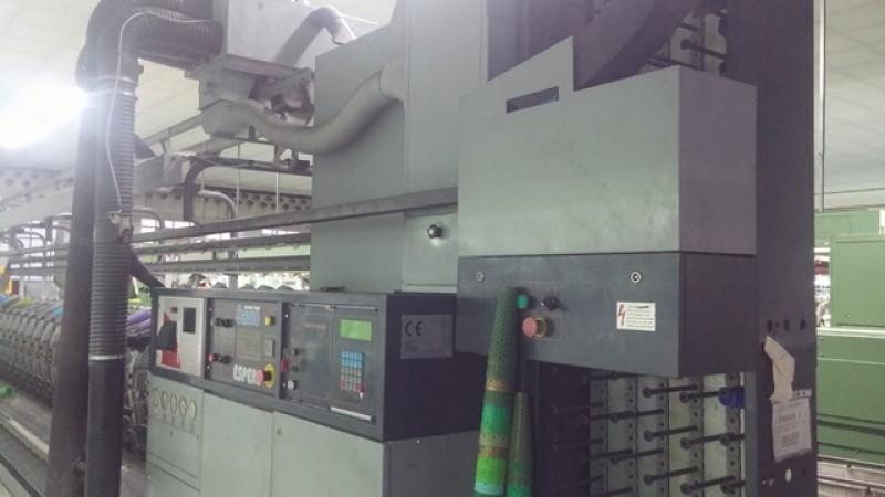 SAVIO ESPERO automatic winder - Second Hand Textile Machinery 1997