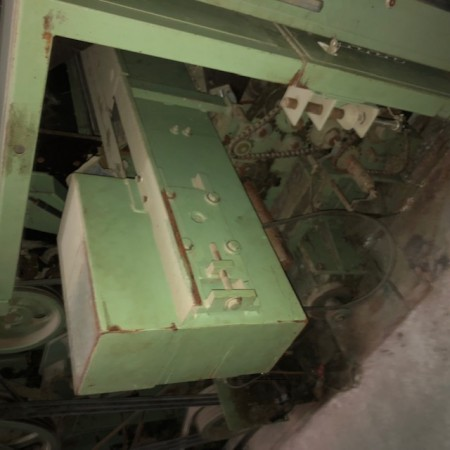 THIBEAU CA6 - B6 semi-worsted card - Second Hand Textile Machinery 1991
