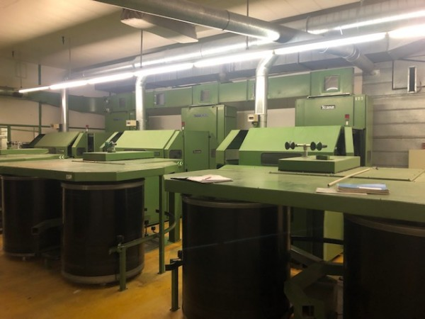 Cotton cards TRUTZSCHLER DK 740 - Second Hand Textile Machinery 1990