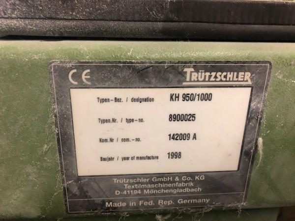 Carde coton TRUTZSCHLER DK 760  - Occasion 1994/1995